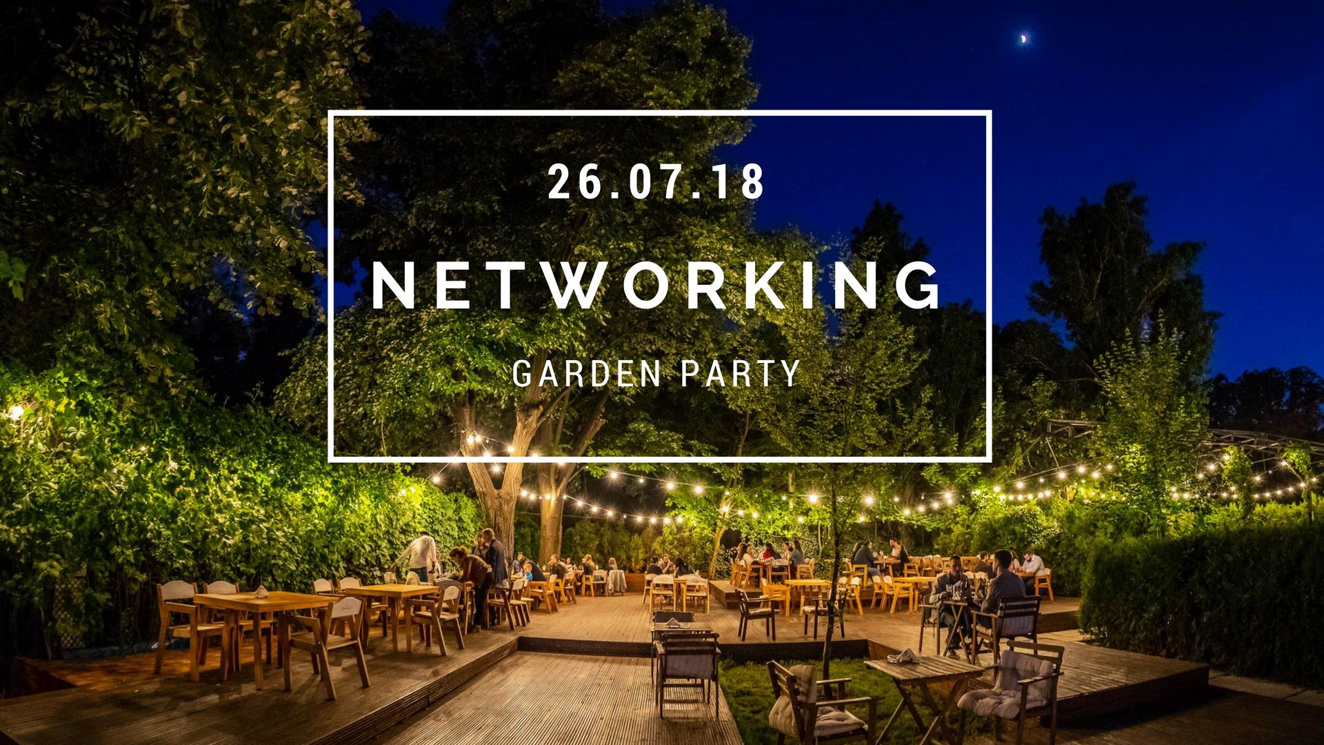 EVENIMENT NETWORKING – GARDEN PARTY